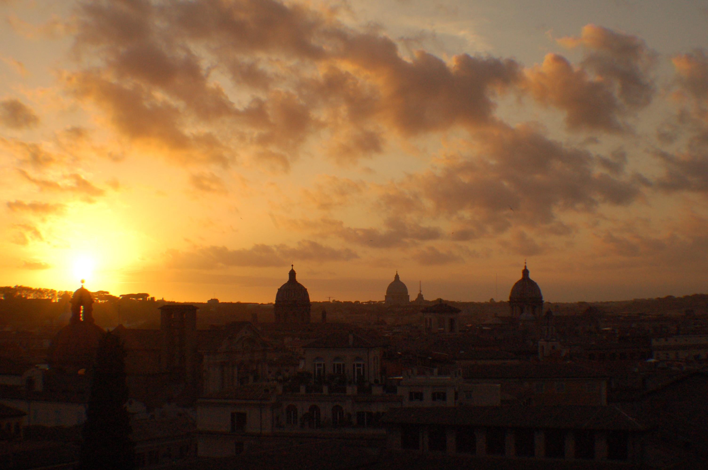 Roma sotto la luce migliore